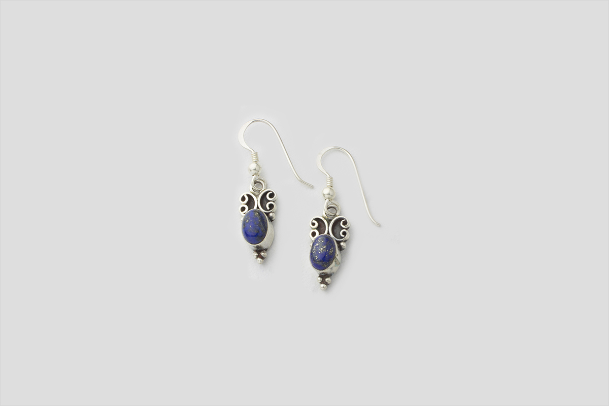 Lapes Silver Earring