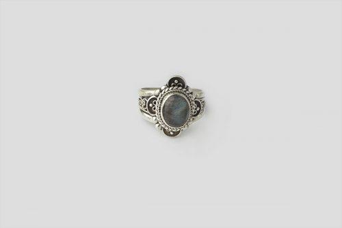 Tourmaline silver Ring 2