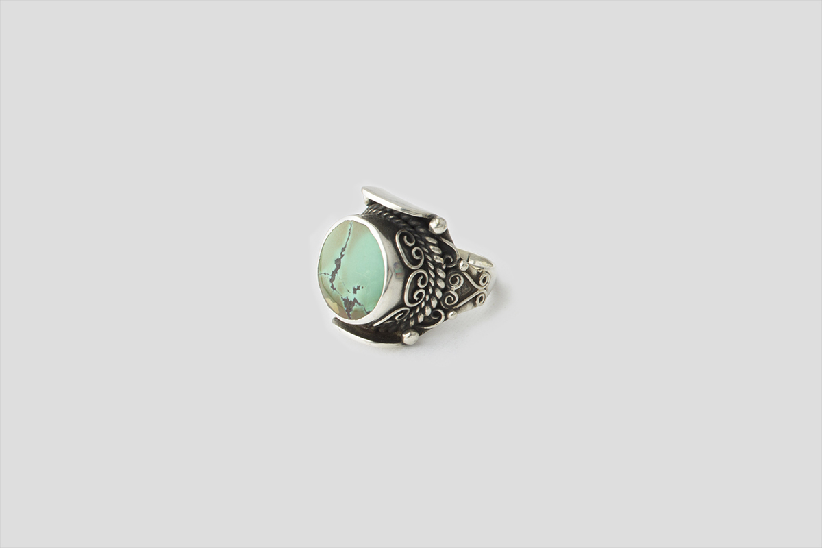 Turquoise Silver Ring(3)
