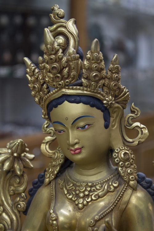 Green Tara 14inc statue (4)