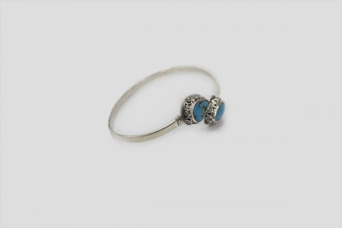 Turquoise Silver Bracelet 3